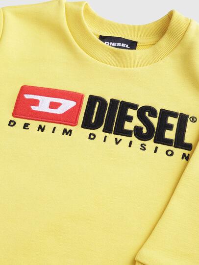 Diesel - SCREWDIVISIONB-R, Giallo - Felpe - Image 3
