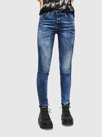 Diesel - Babhila 0096Q, Blu medio - Jeans - Image 1