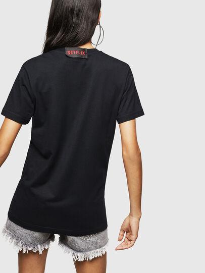 Diesel - LCP-T-DIEGO-MARSELLA, Nero - T-Shirts - Image 5