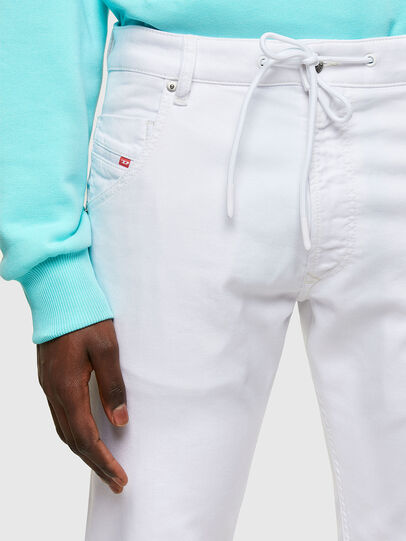 Diesel - Krooley JoggJeans® 0684U, Bianco - Jeans - Image 4