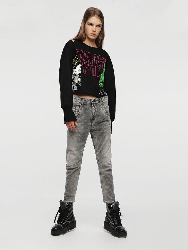 FAYZA JOGGJEANS 0855B, Grigio Jeans