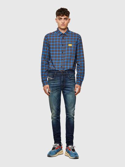 Diesel - D-Amny 09A27, Blu Scuro - Jeans - Image 5