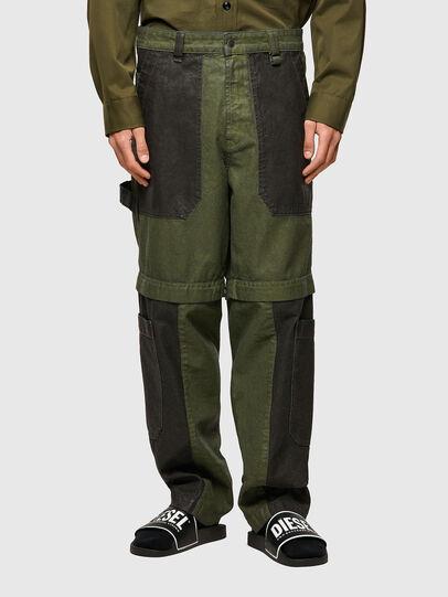 Diesel - D-Multy 0IDAQ, Verde - Jeans - Image 1