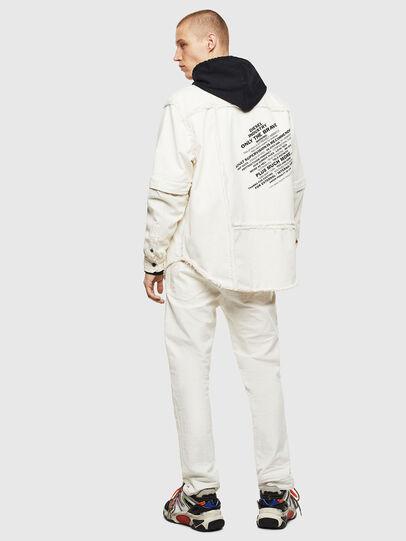 Diesel - D-KURTIS, Bianco - Camicie in Denim - Image 7