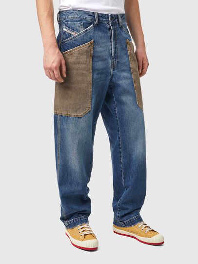 Diesel - D-Franky 0GCAY, Blu medio - Jeans - Image 3