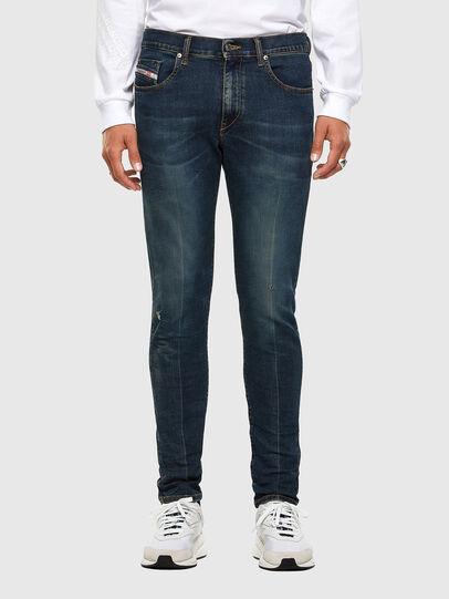 Diesel - D-Strukt 0093J, Blu Scuro - Jeans - Image 1