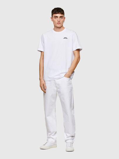 Diesel - T-JUST-E15, Bianco - T-Shirts - Image 5