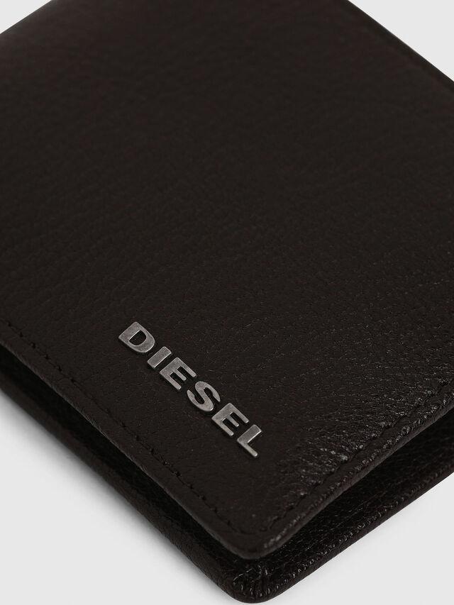 Diesel - HIRESH XS, Marrone - Portafogli Piccoli - Image 5