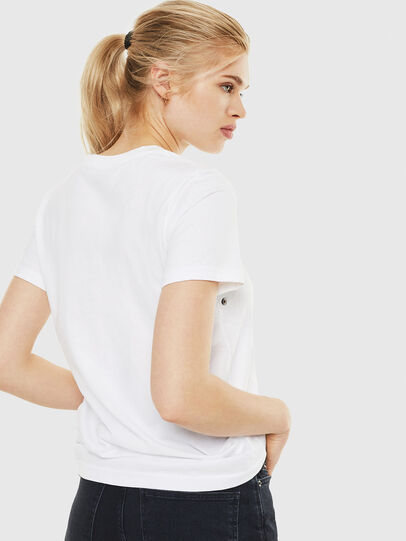 Diesel - T-SILY-WO, Bianco - T-Shirts - Image 2