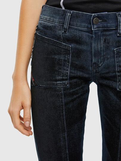 Diesel - Slandy 009KN, Blu Scuro - Jeans - Image 6