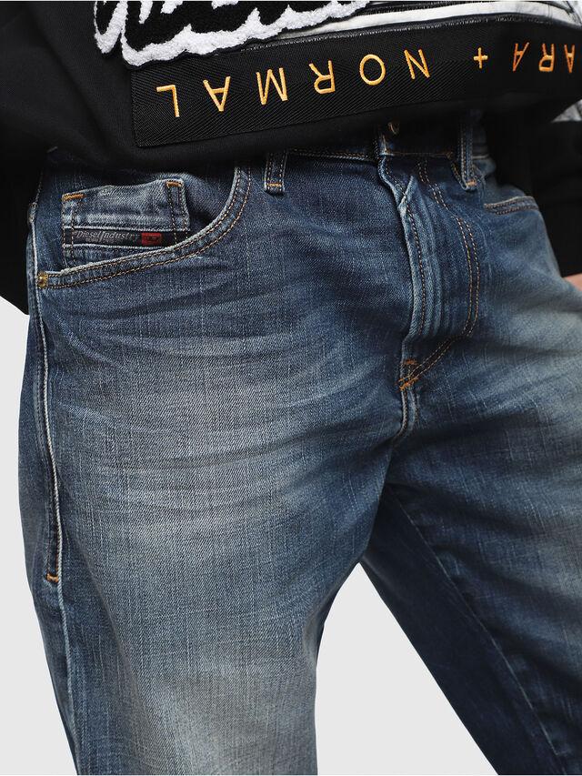Diesel - THOSHORT, Blu Scuro - Shorts - Image 3