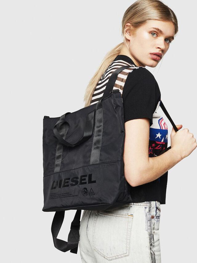 Diesel - F-SUSE T BACK W, Nero/Blu - Zaini - Image 6