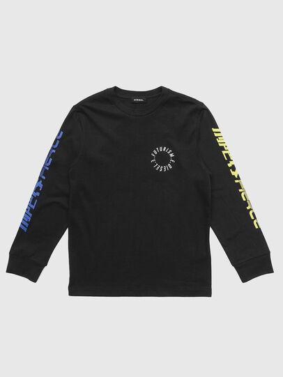 Diesel - TJUSTLSY1, Nero - T-shirts e Tops - Image 1