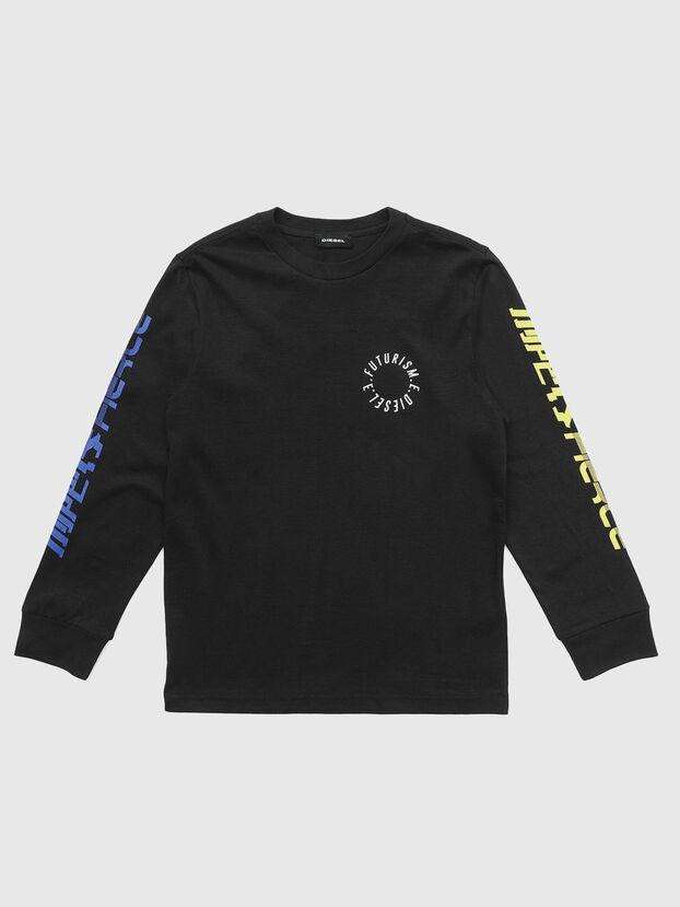 TJUSTLSY1, Nero - T-shirts e Tops