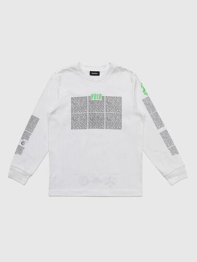 Diesel - TJUSTLS-NEW, Bianco - T-shirts e Tops - Image 1