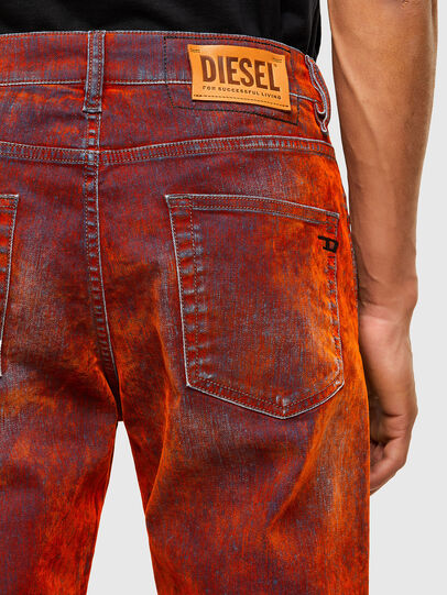 Diesel - D-Strukt 069TL, Rosso - Jeans - Image 4