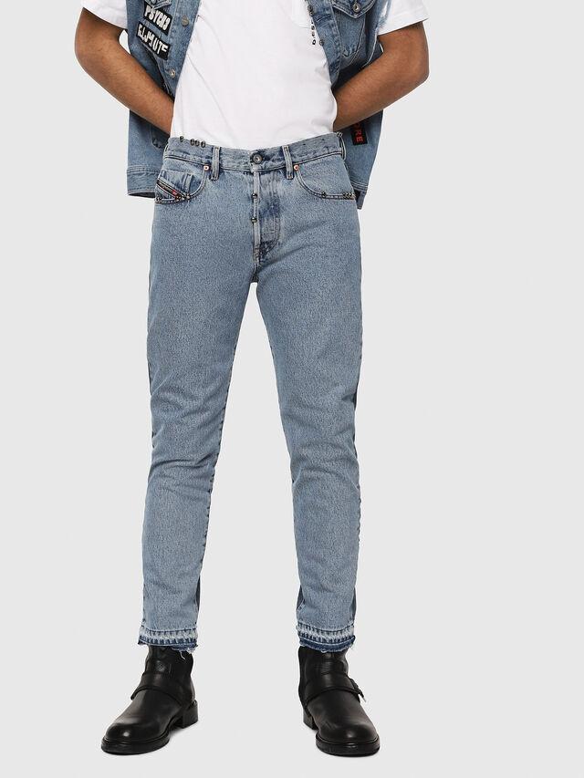 Diesel - Mharky 0077Z, Blu medio - Jeans - Image 1