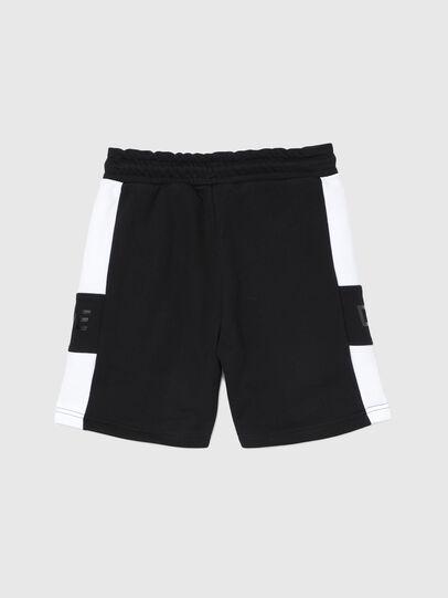 Diesel - PSHAM, Nero/Bianco - Shorts - Image 2