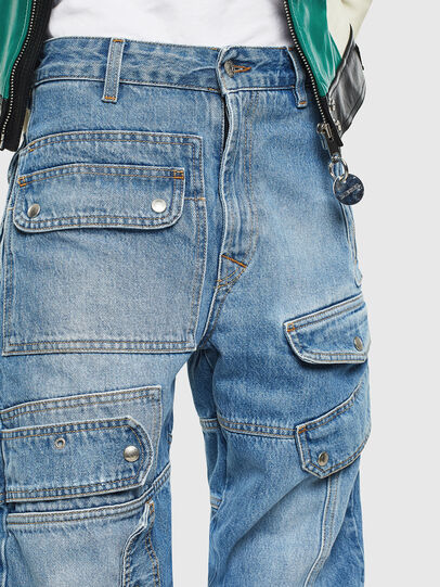 Diesel - DE-MIRY, Blu Jeans - Pantaloni - Image 6