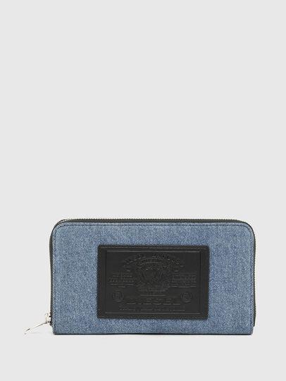 Diesel - GRANATO LC, Blu/Nero - Portafogli Con Zip - Image 1