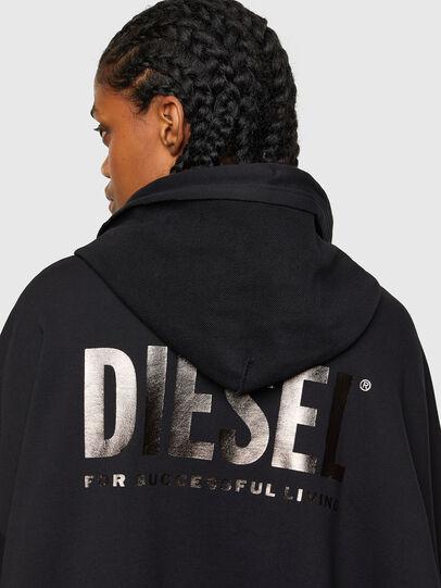 Diesel - F-BILLY-LOGO, Nero - Felpe - Image 4