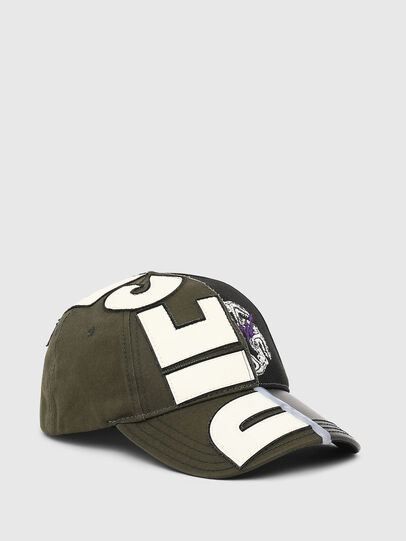 Diesel - CI-HALF, Verde Militare - Cappelli, Berretti e Guanti - Image 1