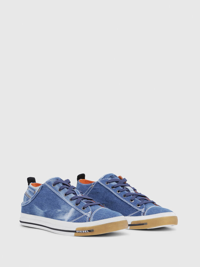 Diesel - EXPOSURE LOW I, Blu Jeans - Sneakers - Image 2