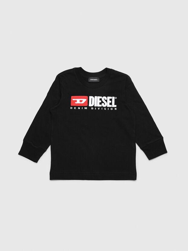 TJUSTDIVISIONB ML-R, Nero - T-shirts e Tops