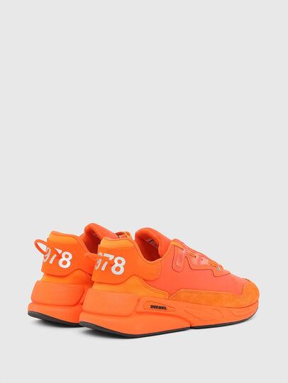 Diesel - S-SERENDIPITY LC, Arancione - Sneakers - Image 3