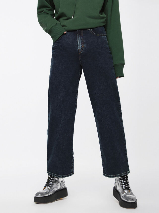 Diesel - Widee JoggJeans 069BE, Blu Scuro - Jeans - Image 1