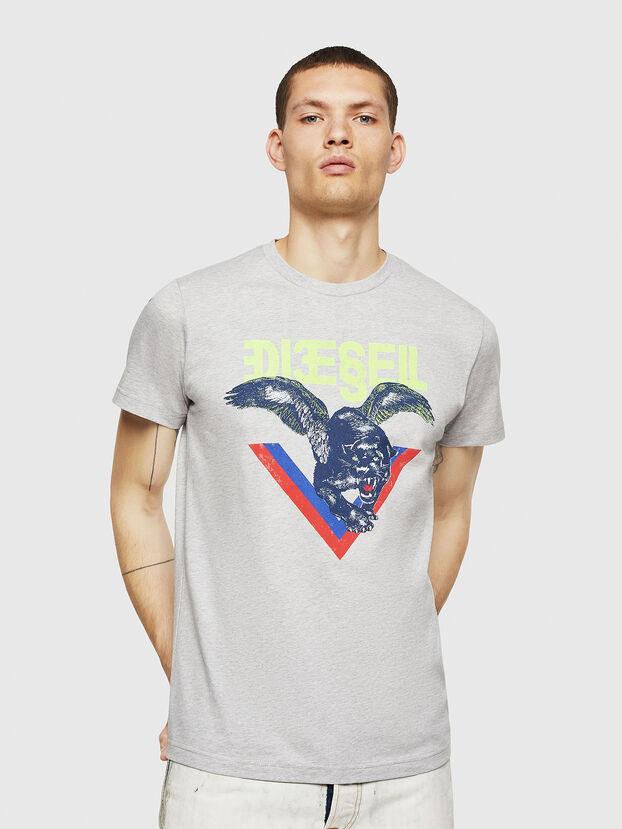 T-DIEGO-A4, Grigio Chiaro - T-Shirts