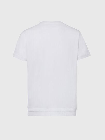 Diesel - T-DIAMANTIK-NEW2, Bianco - T-Shirts - Image 2