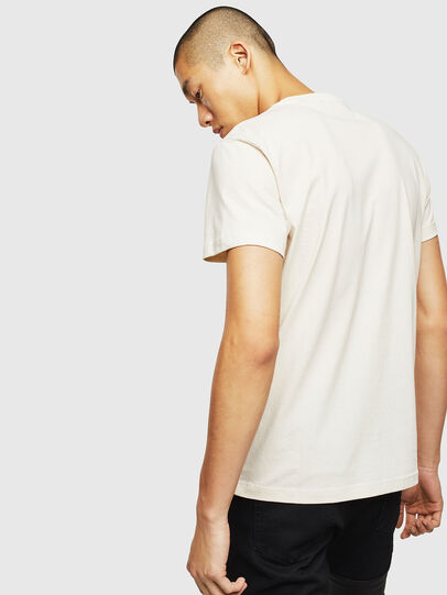 Diesel - T-WORKY-MOHI, Bianco - T-Shirts - Image 2