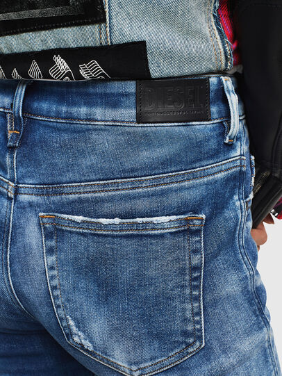Diesel - Slandy High 0096J, Blu medio - Jeans - Image 5