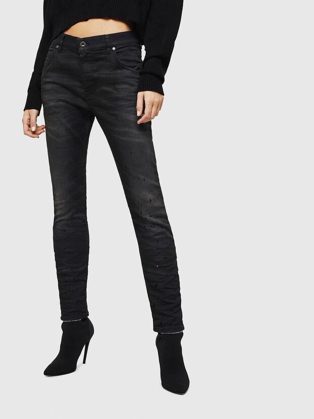 Krailey JoggJeans 069GN, Nero/Grigio scuro - Jeans