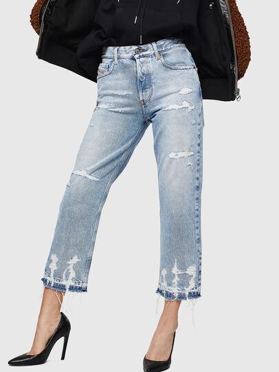 Diesel - Aryel 0078L, Blu Chiaro - Jeans - Image 1