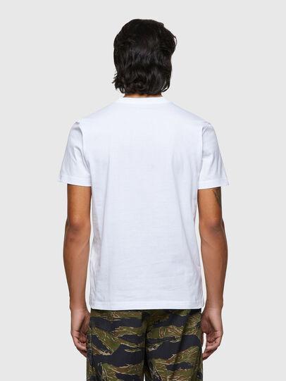 Diesel - T-DIEGOS-ECOLOGO, Bianco - T-Shirts - Image 2