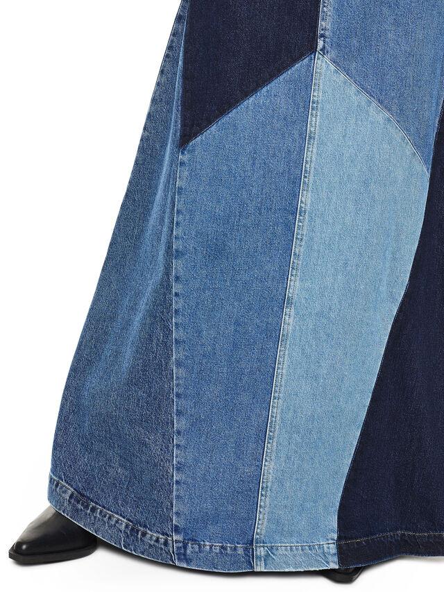 Diesel - DINAP, Blu Jeans - Vestiti - Image 4