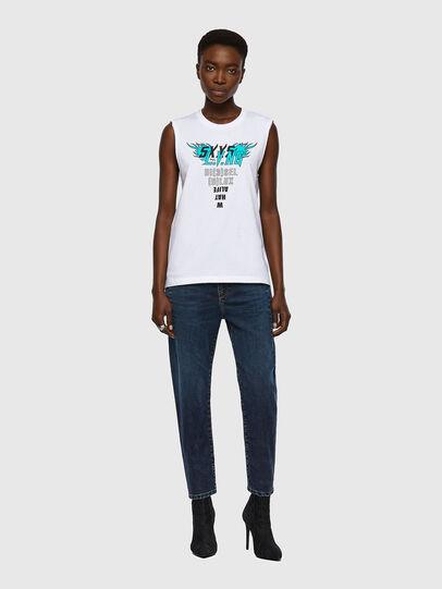 Diesel - T-SILESS, Bianco - T-Shirts - Image 4
