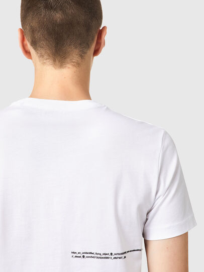 Diesel - T-DIEGOS-B21, Bianco - T-Shirts - Image 3