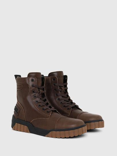 Diesel - H-RUA AM, Marrone - Sneakers - Image 2
