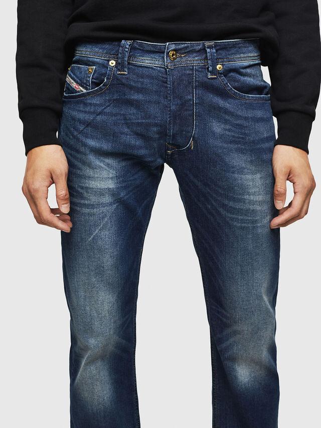 Diesel - Larkee 0853R, Blu Scuro - Jeans - Image 3