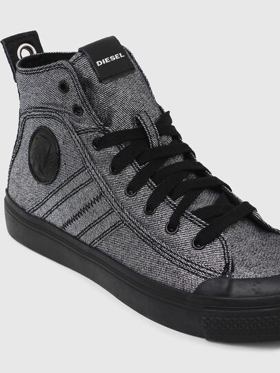 Diesel - S-ASTICO MID LACE W, Grigio - Sneakers - Image 4