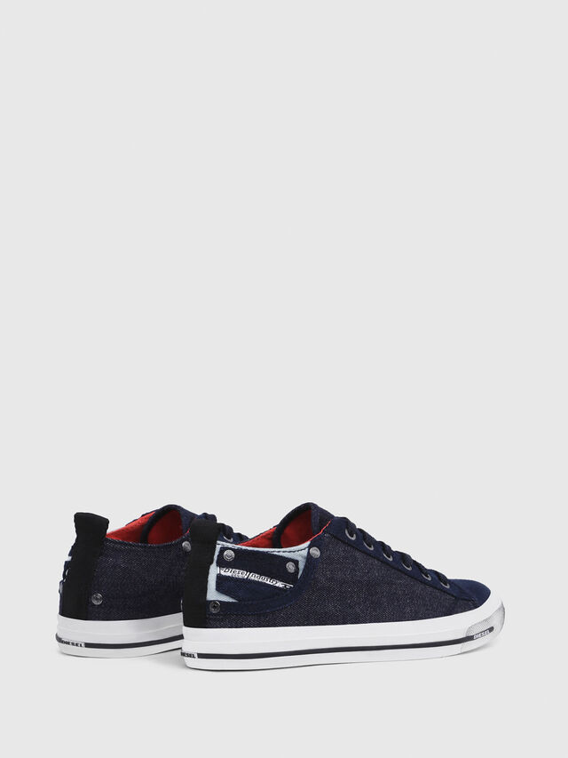 Diesel - EXPOSURE IV LOW  W, Blu Scuro - Sneakers - Image 3
