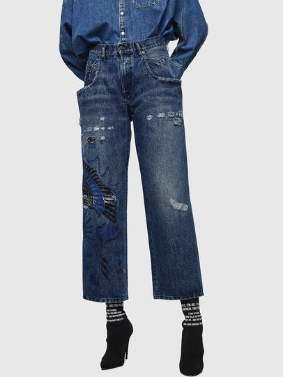 Diesel - Widee 0092Z, Blu medio - Jeans - Image 1