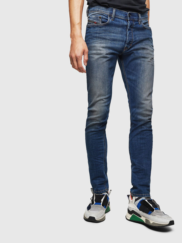 Diesel - Tepphar 087AW, Blu Scuro - Jeans - Image 1