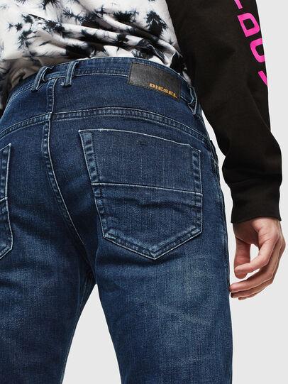 Diesel - Thommer 0095T, Blu Scuro - Jeans - Image 4