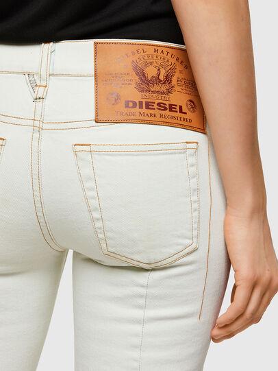 Diesel - D-Ebbey 009ZA, Bianco - Jeans - Image 3