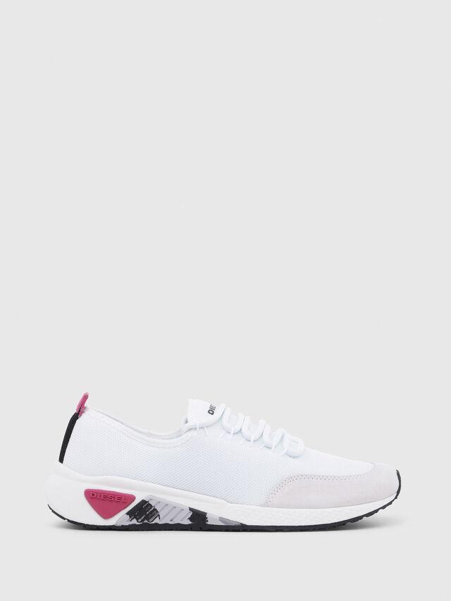 Diesel - S-KB LC W, Bianco - Sneakers - Image 1