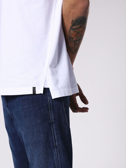 Diesel - T-DANIEL, Bianco - T-Shirts - Image 5